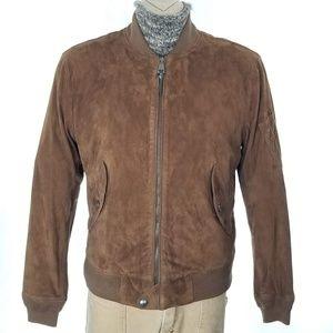 Polo Ralph Lauren Brown Suede Jacket